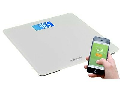 BALANCE / SCALE PERSON CONNECT LCD WIRELESS 150Kg ANDROID SMARTPHONE IOS IPHONE