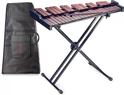 Stagg XYLO-SET 37 Key Xylophone with Mallets, Stand, Gigbag NEW On Sale Bell Kit