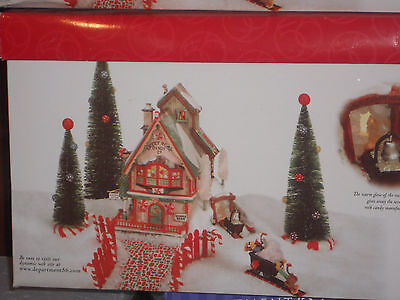 """Department 56 """"Sweet Rock Candy Co.""""  56.56725 North Pole Series"""
