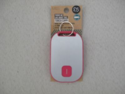 Marks & Spencer Torch Card PINK FREEPOST