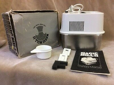 MAGIC MILL II 2 High Speed Flour Mill Grain Wheat Grinder Owner's Manual K-tec