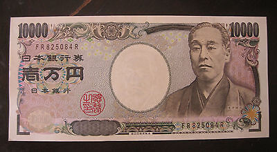 BRAND NEW Bill JAPAN Authentic BANKNOTE10000/10,000Yen ¥ 壱萬円 Yukichi Fukuzawa福沢諭
