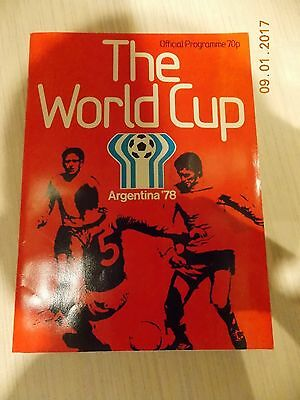 FIFA World Cup 1978 Programme - Argentina '78