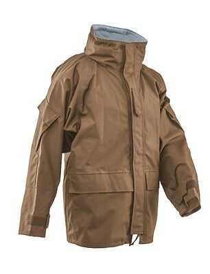Regenjacke TRU-SPEC H2O ECWCS GEN 2 Cold Wet Weather Nässeschutz Parka Coyote L