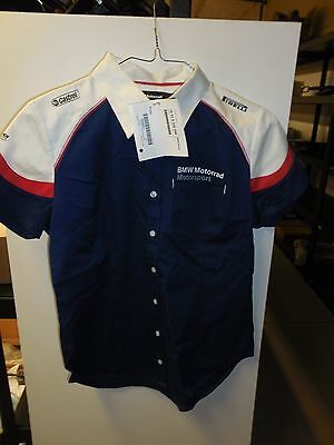 Genuine BMW Motorrad Short Sleeve Blouse
