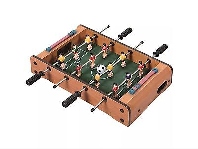 Deluxe Table Top Mini Football Table Foosball Players Family Game Toy Xmas Gift