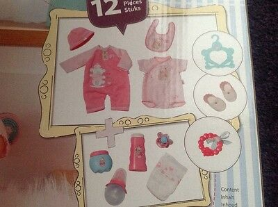 Brand New Boxed Baby Annabell Dolls Gift Set - 12 Items - Zapf Creations