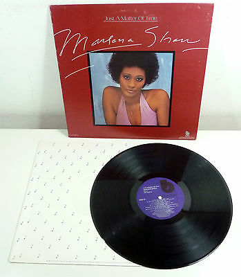 """MARLENA SHAW """"Just A Matter Of Time"""" US 70s Blue Note LP Soul JAZZ Funk"""