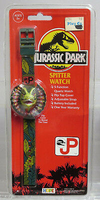 Hope Industries 39212 Original Jurassic Park 5 Function Spitter Watch NOS