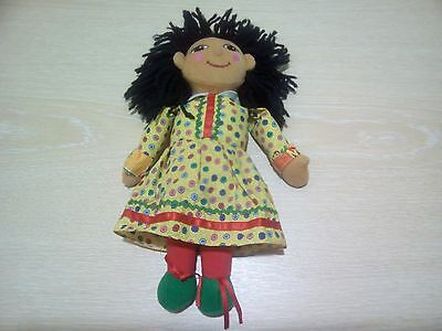 "Rosie & Jim Rosie Rag Doll 10"" Tall Lovely Condition - No Bag 2nd Rec P&P"