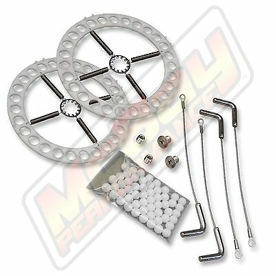 Alignment Rack Turn Plate Table Repair Kit Stainless Steel Plates w/Pins Hunter