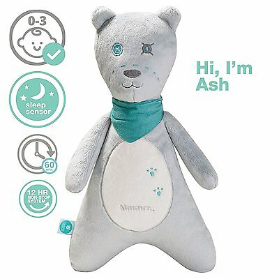 Teddy Bear by myHummy - Plush Sound Machine with 5 White Noise (Has Tear***)