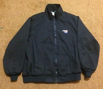 Vintage Riverside Pepsi Delivery Employee Jacket Size XL - Made In USA