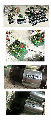 Maxon DC Motor with Speed Controller Boards Lot of 39