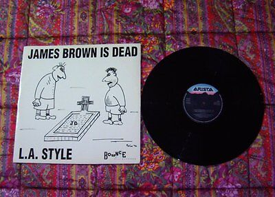 """L.a. Style  -  James Brown Is Dead  Ep 12"""" Mix Arista Raro"""
