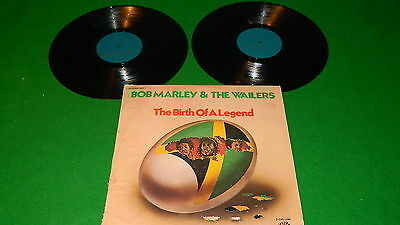 BOB MARLEY & THE WAILERS : The birth of a legend - 1976 US issue double LP VG/EX