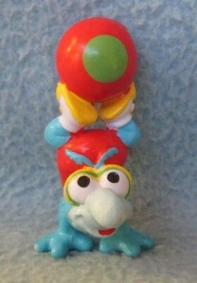 """VINTAGE BABY GONZO 2.5"""" PVC FIGURE, Muppets, Cake Topper"""