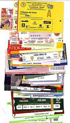 1993 - 2016 ! WORLD CUP QUALIFYING TICKETS ! Select from updated list ! FEB 2017