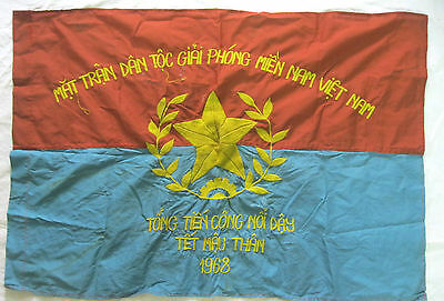 FLAG - NLF North VN ARMY , The General Offensive and Uprising Tet Offensive 1968