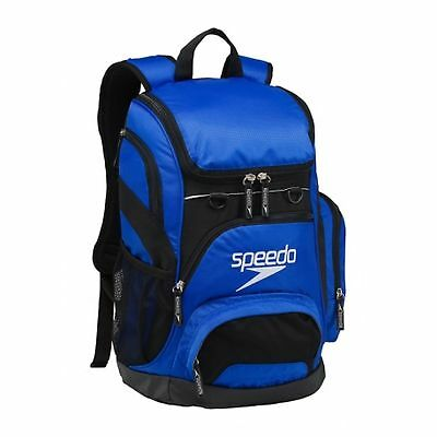 Clearance Speedo Teamster Backpack Swim Swimming Gym Kit Bag Marigold Black