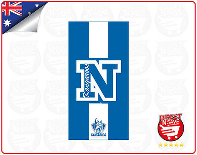 AFL North Melbourne Kangaroos Football Club Beach Towel Official Merchandise