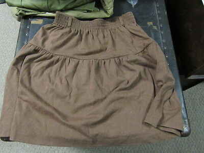 Brownie Scout Skirt, size large 14/16                eb11