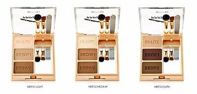 Milani Eye Brow Fix Brow Shaping Powder Kit-Choose your color + Free Shipping