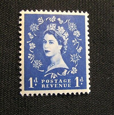 Great Britain 1d 1 Pence Postage Revenue Stamp
