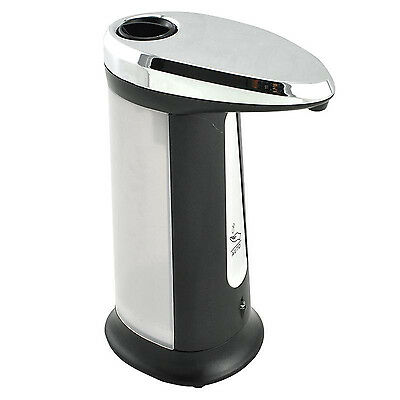 400ML Stainless Steel Hands Automatic IR Sensor Touchless Soap Liquid Dispenser