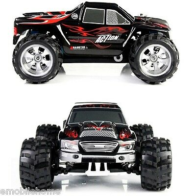 Wltoys A979 1:18 2.4G 4WD RC Truck 50KMH High Speed Racing Truck RED