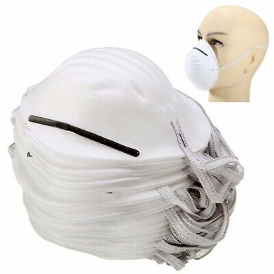 50pcs Disposable Dust Face Mask Mouth Antidust Filter Medical Safety Respirator