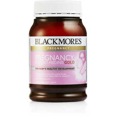 Blackmores Pregnancy And Breastfeeding Gold - 180 Capsules