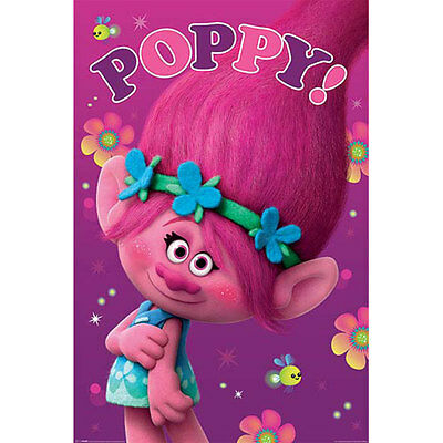Trolls - Poppy POSTER 61x91cm NEW * Princess