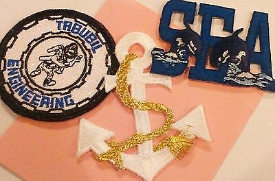 Sew-On Patches, 3 as pictured