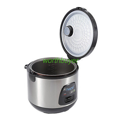 4L 700W Electric Cooking Lunch Box Mini Rice Cooker Steam Cook Keep Warm Heating