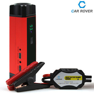 1000A Peak Current Auto Booster Starter Emergency 54000MWH High Battery Capacity