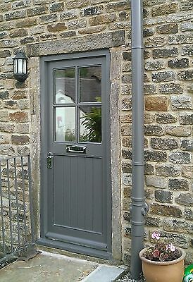 4 Lite Cottage Door with or without external door  Frame *MADE TO MEASURE*