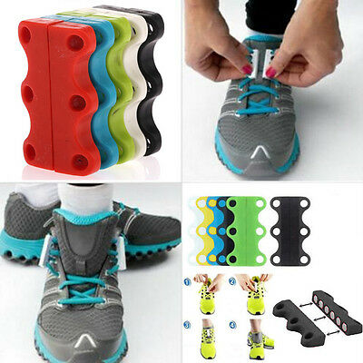 New Sneakers Magnetic Shoe Buckles Casual Shoe laces Closure Shoelaces Buckles