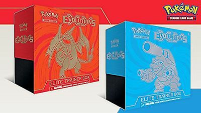Pokemon TCG XY-Evolutions Elite Trainer Box - Mega Blastoise Card Game(80165)