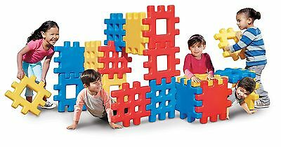 Little Tikes 642173 Big Waffle Block Set-18 Pieces Toy