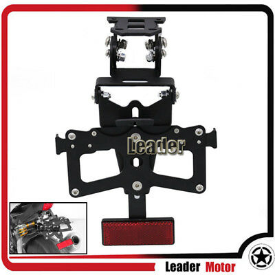 For YAMAHA YZF-R1 YZF-R3 YZF-R6 Angle License Number Plate Frame Holder Bracket