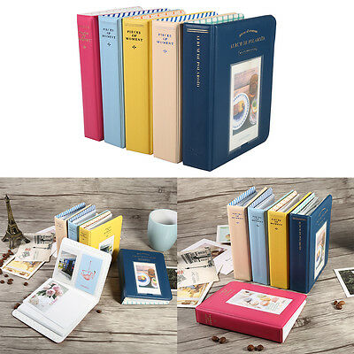 64 Pockets Clear Protective Film Photo Storage Album Case Holder for Polaroid HG