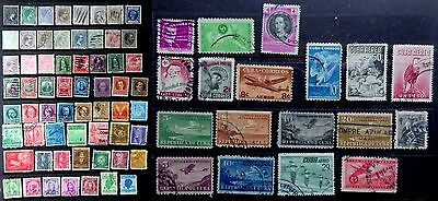 Cuba Stamps 1880-1954  Used Collection.of 79 different stamps.