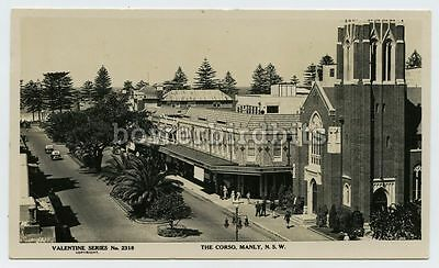 Postcard - The Corso, MANLY, NSW