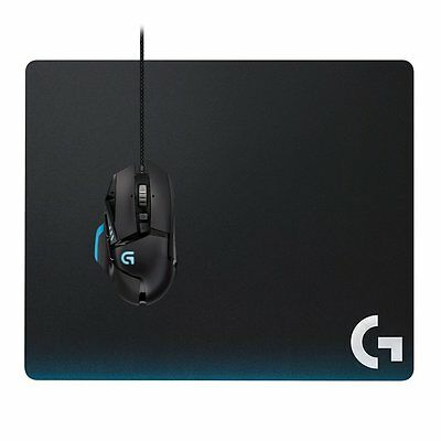 Logitech G440 Hard Gaming Mouse Pad Multi-Layer for High DPI Gaming Standard MP