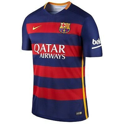 Nike 2015-2016 Barcelona players Authentic Home Match Shirt Size M 658790 422