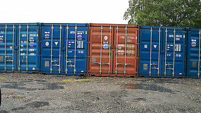 20ft x 8ft Shipping Container for hire  Nottinghamshire