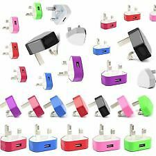 76 x USB Colored Chargers for IPHONE, IPADS and Compatible Devices BULK DEAL!