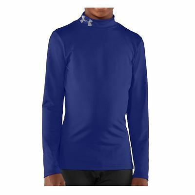 Under Armour Junior ColdGear Fitted Evo Mock Thermal Winter Baselayer