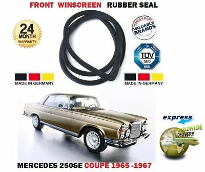 For Mercedes 250Se 280Se W111 Coupe 1965-1971 New Front Windscreen Rubber Seal